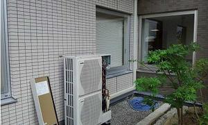 滋賀県草津市でエアコン新設工事★エアコン取付・取外・入替はデヴァシオンへ!