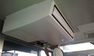 待合室にエアコン設置工事★京都・滋賀!業務用エアコン工事はコチラへ!