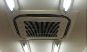 滋賀県草津市で業務用エアコン工事!京都・滋賀の業務用エアコンはデヴァシオン!!