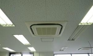大阪のビルでエアコン工事!京都・滋賀・大阪・奈良 エアコン工事はお任せ下さい!