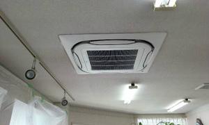 奈良で業務用エアコン取り付け完了!京都・滋賀・大阪・奈良 エアコン入替はお任せ下さい!