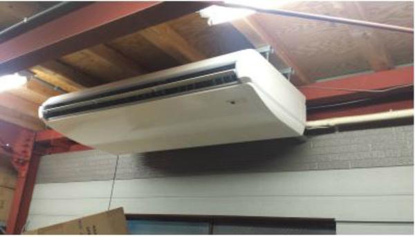 奈良で業務用エアコン取付工事★用途にあったエアコンをご提案!何でもご相談下さい!
