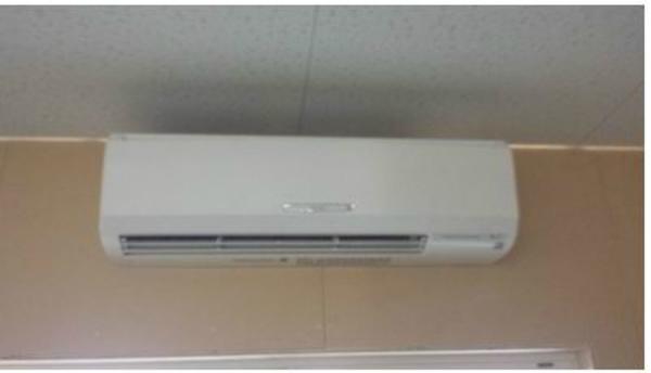 京都の倉庫にエアコン新設工事!業務用エアコンの施工量・実績が豊富です!!