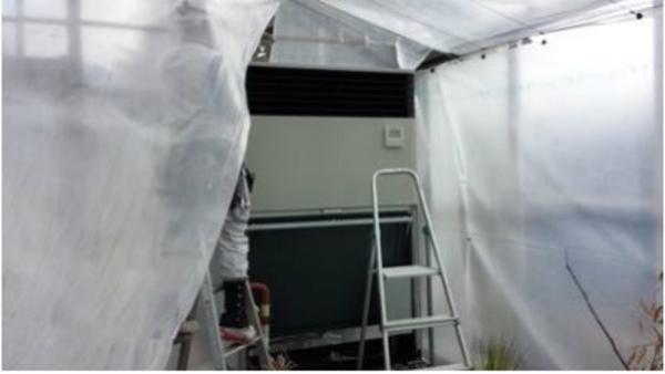 奈良で農業用エアコン取付工事!京都・滋賀・大阪・奈良 エアコン入替はお任せ下さい!
