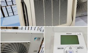 新品ルームエアコン・中古業務用エアコンあります!業務用エアコン工事のプロです!!