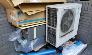 滋賀で家庭用ハウジングエアコンの入替工事頑張って来ました(*^^*ゞ