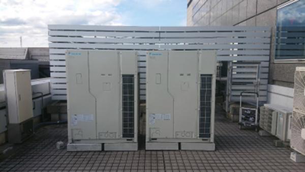 大型ビル用マルチエアコン取付工事(^-^)/大型エアコン工事はエアコンセンター京都、滋賀!