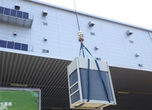 日本全国の大型物流倉庫でエアコンによる作業環境改善!エアコン設置で労災防止!