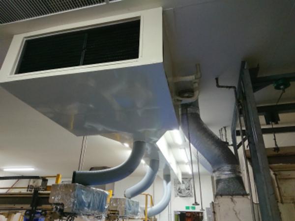 工場にスポットエアコンで作業環境改善!従業員満足度アップ!