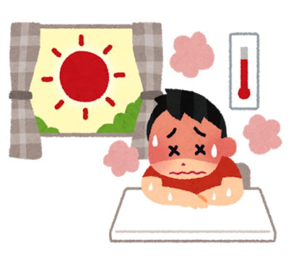事務所内での熱中症は労災になり得ます!