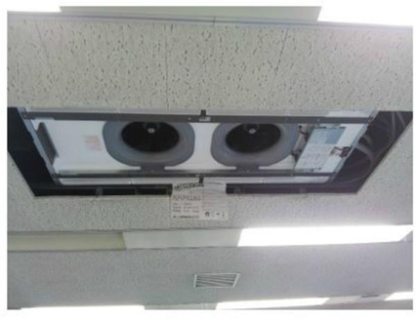 滋賀県で業務用エアコン取付工事☆業務用エアコンはデヴァシオン!