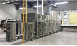 物流倉庫の業務用エアコン工事!大規模な工場・倉庫などの空調設備はデヴァシオンに!