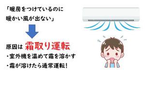 寒い日のエアコンの不調!原因は霜取り運転かも!! 京都・滋賀の業務用エアコンはデヴァシオン!!