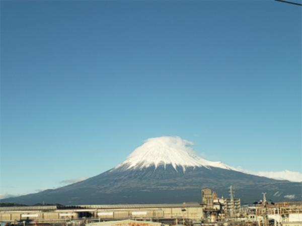 コロナでも今日の富士山は変わらず綺麗!