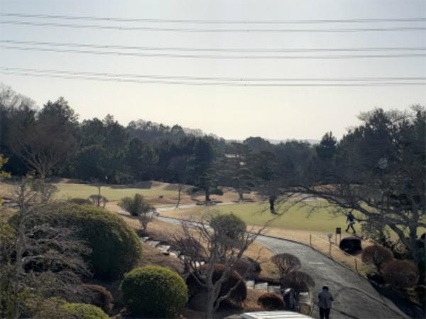 エアコン会社の集まりで久しぶりにゴルフでーす!