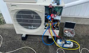 滋賀で業務用エアコン入替工事!猛暑が来る前にエアコンのチェックを!