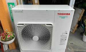 滋賀で久しぶりにTOSHIBAのエアコン取付です!エアコン工事はお任せ下さい!!