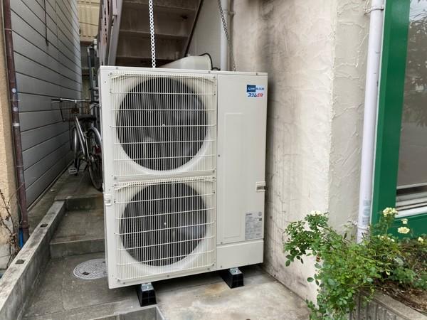 京都で補助金利用にてエアコン入替工事!断然補助金利用がお得です。