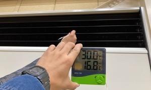 エアコンの吸い込み温度、吹き出し温度!エアコンのことならデヴァシオン!!